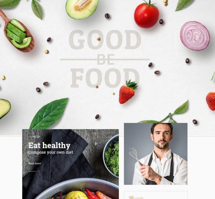 Goodfood-RWD響應式網頁設計